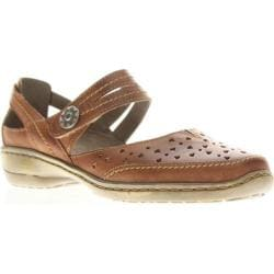 Women's Spring Step Martine Brown Leather