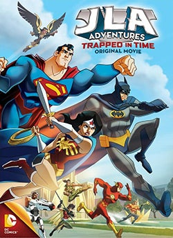 JLA Adventures: Trapped In Time (DVD)