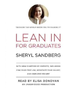 Lean in: For Graduates (CD-Audio)
