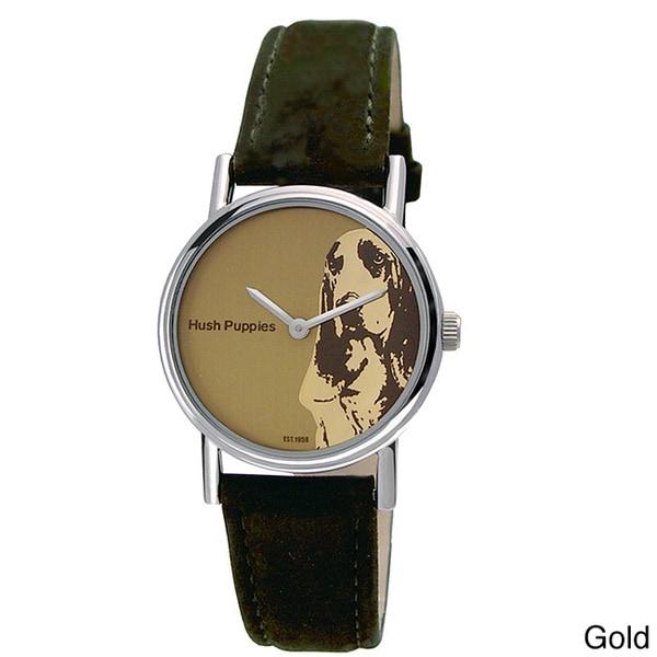 Hush Puppies Women's Grey Leather Watch