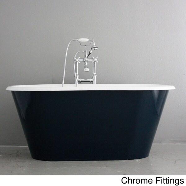 'The Brinkburn' from Penhaglion 61-inch Cast Iron Double Ended Bathtub