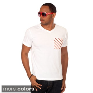 Something Strong Men's Contrast Pocket Tee