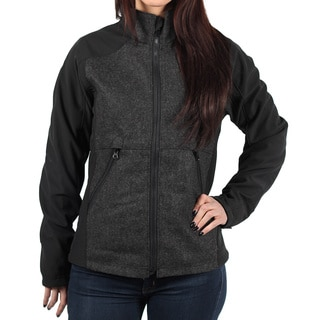 Rivers End Women's Bonded Wool Soft Shell Jacket