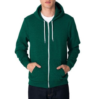 American Apparel Unisex Salt and Pepper Zip Hoodie