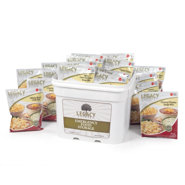 Legacy Premium Gluten-free Food Storage Package (120 Servings)
