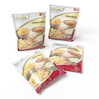 Legacy Premium Food Storage Family Entree Sample Pack (16 Servings)