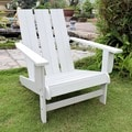 Acacia Hardwood Natural Square Back Adirondack Chair