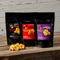Sauce Goddess 3-pack Salted Caramel Corn Assortment with Tote