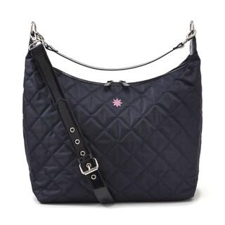 JP Lizzy Tangerine Indigo Hobo Style Diaper Bag