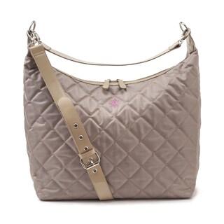 JP Lizzy Biscotti Noir Hobo Style Diaper Bag