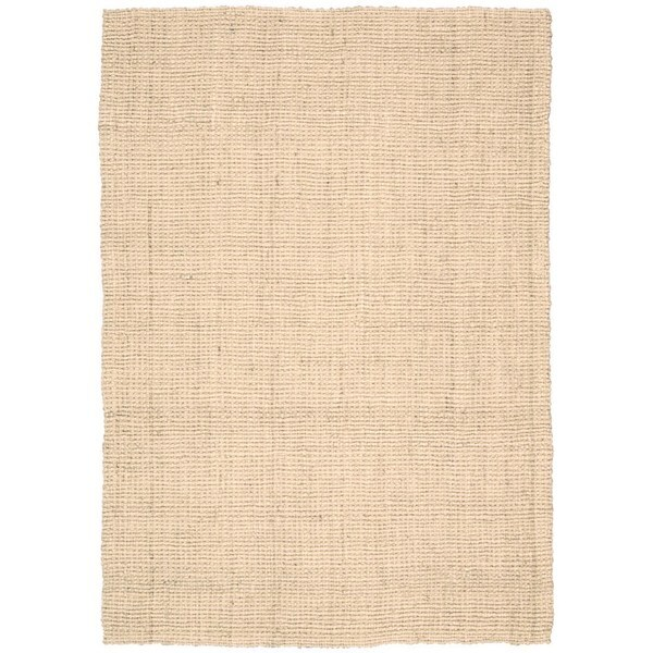 Nourison Mangrove Ivory Jute Husk Area Rug 9 39 X 12 39 By Nourison Overstock Shopping Great