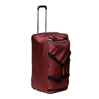Delsey Helium Ultimate Burgundy 28-inch Rolling Upright Duffel