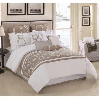 Cape Cod 10-piece Embroidered Comforter Set