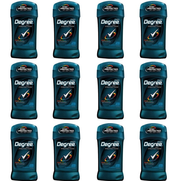 Degree Men Ultra Dry Cool Rush Deodorant (Pack of 12)