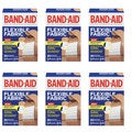 Band-Aid Brand Flexible Fabric 30-count Adhesive Bandages (Pack of 6)