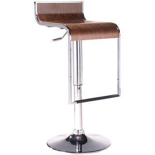 LEM Piston-style Adjustable Bar Stool