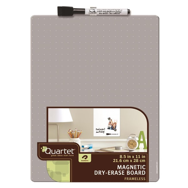 Quartet Frameless Magnetic Tin Board