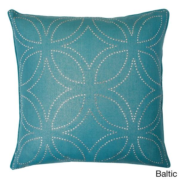 Florencia Diamond Down Square Pillow