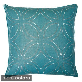 Florencia Diamond Down Square Pillow