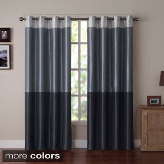 Park Slope Color Block Grommet Curtain Panel