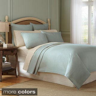 Modern Living Signature Matelasse Cotton Coverlet with Shams Sold Separately