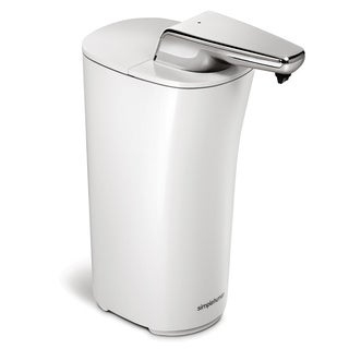 simplehuman White Bath Accessory Sensor Pump