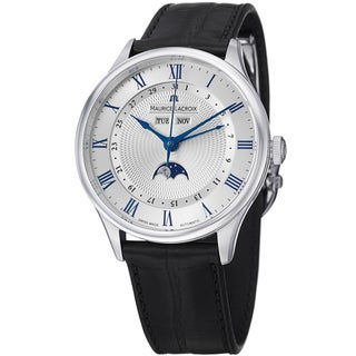 Maurice Lacroix Men's MP6607-SS001-110 MP6607-SS001-110 'MasterPieceTraditional' Moon Phase Watch