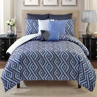 Metropolis Lawson Reversible 8-piece Comforter Set