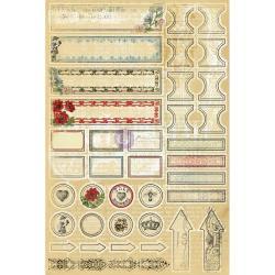 Everyday Vintage Kit 12 X12 13/Sheets - Flora