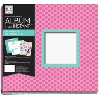 Me & My Big Ideas 12' X12 Complete Album - Brave Tween