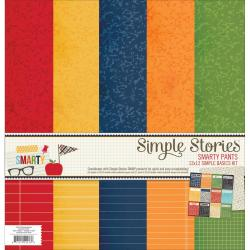 Smarty Pants Simple Basics Paper Kit 12 X12 6/Sheets -