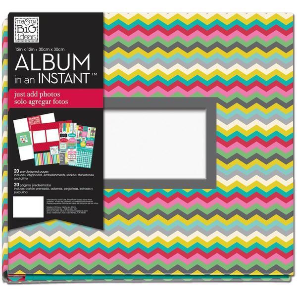 Me & My Big Ideas 12' X12 Complete Album - Chevron Family