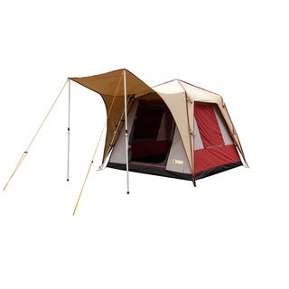Black Pine PineDeluxe 6-person Canvas Turbo Tent