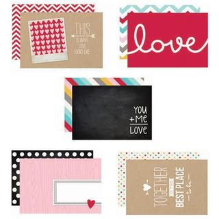Love Sn@p! Double-Sided Card Pack 4 X6 24/Pkg -