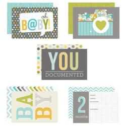 Baby Boy Sn@p! Double-Sided Card Pack 4 X6 24/Pkg -