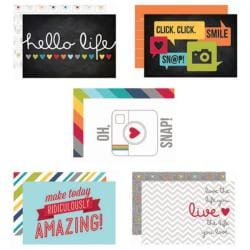 Everyday Sn@p! Double-Sided Card Pack 4 X6 24/Pkg -