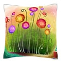 Autumn Season Beauty In Nature 18-inch Velour Throw Pillow