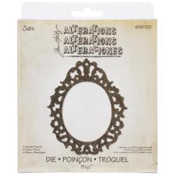 Sizzix Bigz Die By Tim Holtz 5.5 X6 - Ornate Frame