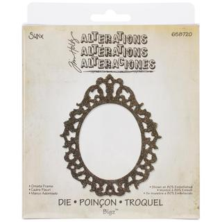 Sizzix Bigz Die By Tim Holtz 5.5 X6 - Ornate Frame