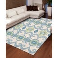 Hand-tufted Siam Ivory Wool Area Rug (5'6 x 7'5)