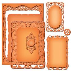 Spellbinders Nestabilities Majestic Elements Dies - Nobel Rectangles