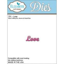Elizabeth Craft Metal Die - Love