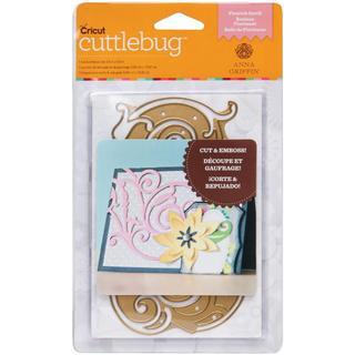 Cricut Cuttlebug A2 Cut & Emboss Die By Anna Griffin - Flourish Scroll