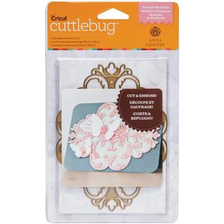 Cricut Cuttlebug A2 Cut & Emboss Die By Anna Griffin - Flourish Medallion