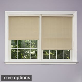 Premium Mushroom Linen Look Roller Window Shade