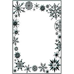 Crafts-Too Embossing Folder 4 X6 - Frost Frame