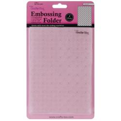 Crafts-Too Embossing Folder 5 X7 - Lattice