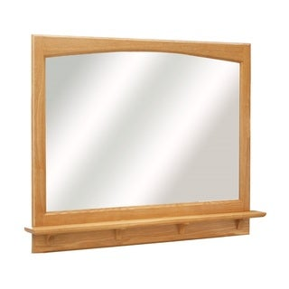 Design House 'Richland' Nutmeg Oak 38-Inch Mirror and Shelf