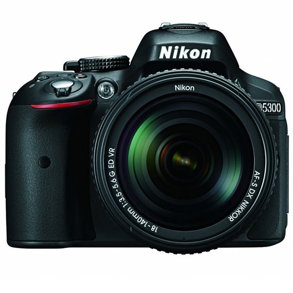 Nikon D5300 24.2MP Digital SLR Camera with 18-140mm Lens