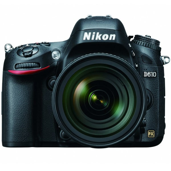 Nikon D610 24.3MP Digital SLR Camera with 24-85mm Lens
